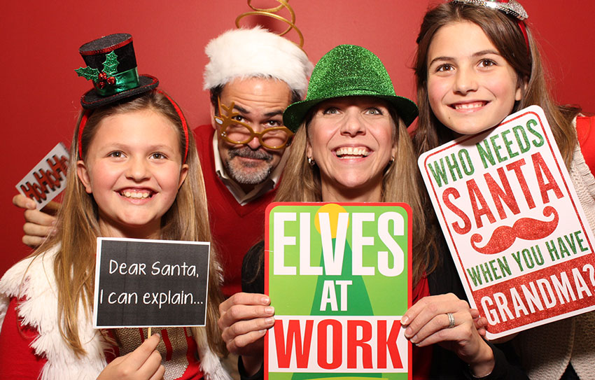 Best Holiday Party Photo Booth Cleveland